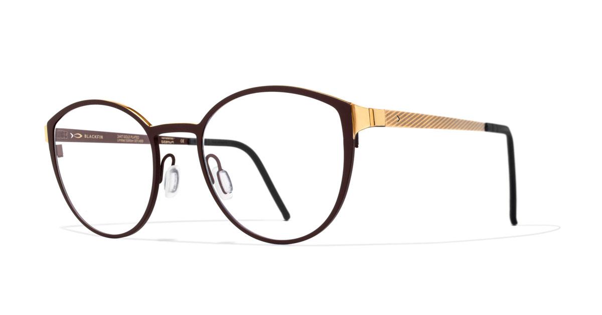 niedriger Preis Online-Shop Großhändler Blackfin: Brillen aus Gold geben