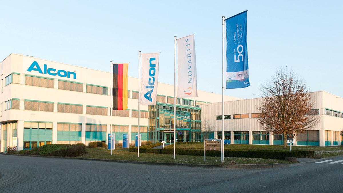 alcon plant 400 millionen euro expansion f r gro wallstadt doz portal. Black Bedroom Furniture Sets. Home Design Ideas