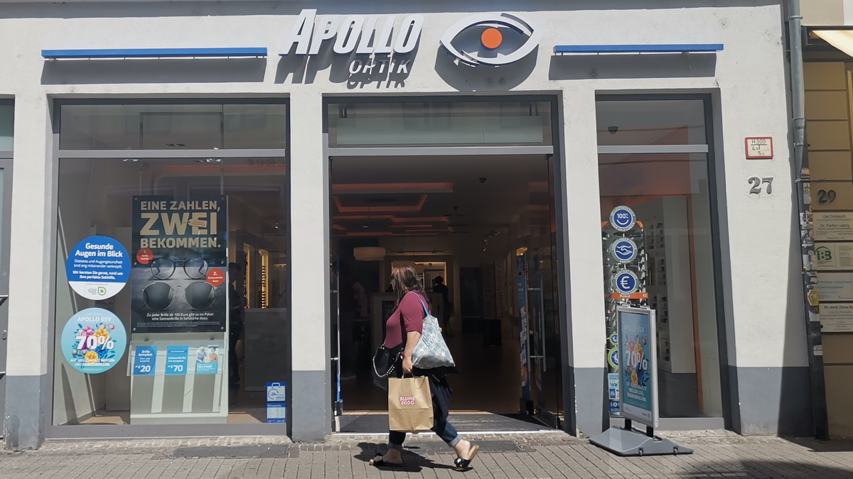 Apollo-Store in Heidelberg