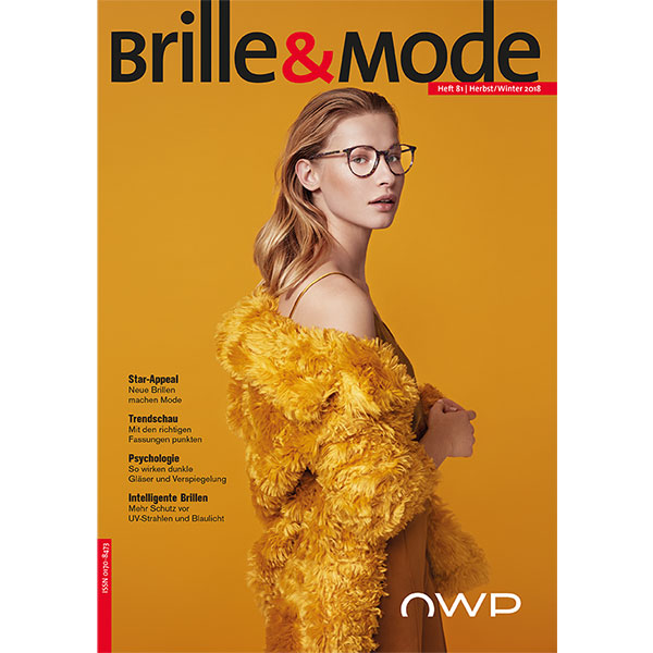 Cover Brille&Mode Herbst 2018