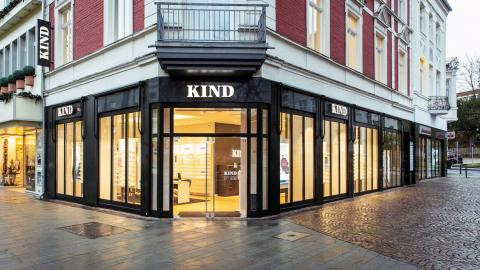 Kind-Filiale in Bergisch Gladbach.