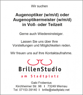 Brillenstudio am Stadtplatz