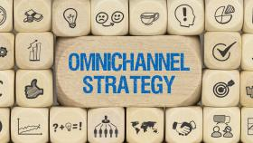 Omnichannel-Strategie Würfel